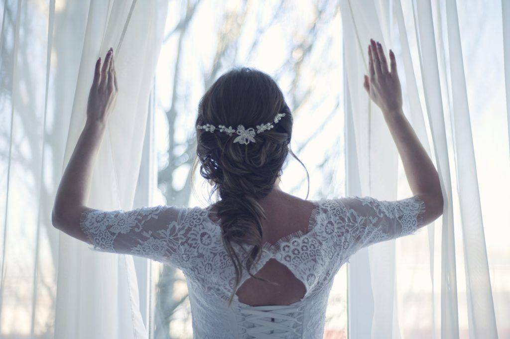 Traum in weiss marie rogez zeremonie hochzeit la reunion, brautpaar freie